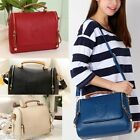 New Lady Girl Shoulder Bag Messeger Handbag Cross Body Crown Faux Leather Clutch