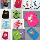 POP Summer Jersey Pet Supplies Various Vest T Shirt Mesh Cotton Dog Clothes Cool