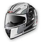 Caberg Vox Speed Motorcycle Helmet - Black/White