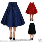 RK86 1950s Circle Swing Dance Skirt Rockabilly Work Pin Up Retro Rock and Roll
