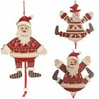Hanging Wooden Santa/Snowman Christmas Decoration/Tree Jumping Jack Decoration..