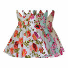 1940's 1950's Vintage Floral Cotton Full Flared Party Bridesmaid Dress New 8-28