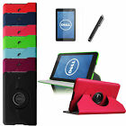"Slim Rotating PU Leather Case Stand Cover for Dell Venue 7 7.0""Andriod Protector"