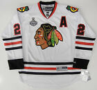 DUNCAN KEITH CHICAGO BLACKHAWKS 2010 STANLEY CUP REEBOK NHL PREMIER AWAY JERSEY