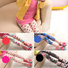 Kids Children Stretch Skinny Leggings Strawberry Floral Lovely Girls 5-12Years