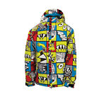 686 Boys Snaggle Strip Snowboard Ski Jacket Acid 2014 Kids Youth