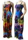 Elegant Butterfly Summer Maxi Dress UK Size 12 - 26 in Various Length (B-CRC-14)