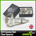 The 2014 Hammer Mod Clone with 2 extension tubes Mechanical Vaporizer Vape