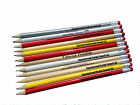300 HB ERASER TIPPED PENCILS PERSONALISED - INK PRINTED- YOU CHOOSE COLOUR