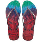 Havaianas Women`s Flip Flops Slim Tropical Ruby Red Sexy Sandals Any Size NWT