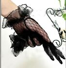 NEW 2017 Lace Elegant Ladies Bridal Short Gloves Wedding/Party White/Black/Red