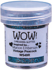 WOW! VINTAGE SELECTION EMBOSSING POWDER GLITTERS - free UK p&p on extras