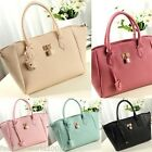 New Ladies Womens Shoulder Bag Handbag Synthetic Leather Messenger Totes Purse