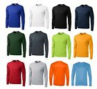 Внешний вид - MEN'S MOISTURE WICKING Dri fit Long Sleeve SPORT-TEK T-shirt NEW XS-4XL ST350LS