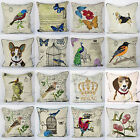 "New Luxury Tapestry Embroidered Cushion Covers 18"" x 18"""