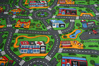 Children's Road Carpet Kids Cars Carpet Police Fire Station 3mt x Any Size!