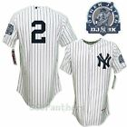 2011 Derek Jeter NY Yankees Authentic Home Jersey w  3000 Hits Patch SZ (40-52)