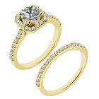 1.25 Carat G-H SI3-I1 Diamond Promise Wedding Solitaire Ring 14K Yellow Gold
