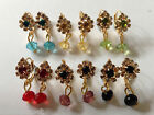 Indian Asian Bollywood Drop Ethnic Earrings - *Mixed Colours*