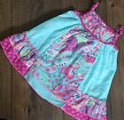 Baby Girls ex Monsoon Paisley Floral Vest Dress 0-3, 3-6 Months For Next Summer