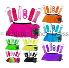 NEON TUTU SET AND ACCESSORIES 1980S SKIRT FANCY DRESS HEN PARTY COSTUME UV RAVE