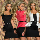 New Women Summer Package Hip Clubwear Bodycon Cocktail Mini Party Evening Dress