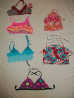 NEW VARIOUS BRANDS GIRL SIZE 4/5 12 14-16 JUNIOR XS SWIMSUIT TOP SEPARATES U PIC