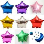 "New 10PCS 10"" Five-pointed Star Helium Foil Balloon Holidays Party Supply - CB"