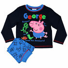 George the Pig Pyjamas | Boys Peppa Pig PJs | Fr 12mths - 8 Years | NEW & TAGS