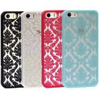 Damask Vintage Pattern Rubber Protector Hard Case Cover For Apple iPhone 5S 5 5G