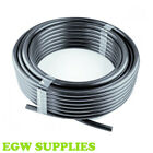 Garden Irrigation Black LDPE Pipe 13mm id - Hozelock-Claber Watering Compatible