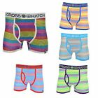 "Crosshatch Men's ""Megahertz"" Stripe Boxer Shorts"