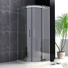 Luxury Walk In EasyClean Glass Quadrant Shower Enclosure Screen Door+Stone Tray
