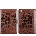 Slim Smart Magnetic Alligator Leather Folio Sleep Stand Cover Case for iPad Mini