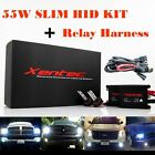 Xentec HID Kit Xenon Light + Relay Harness 55W Slim H4 H7 H11 H13 9006 9004 9007 $56.88 USD on eBay