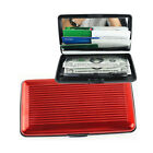 Wallet Credit / Business Money Card Holder Aluminizing  Case Protect 4 Colors