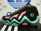 NEW ADIDAS Crazy 97 Men's Basketball Shoes - Black/Pink;  G98310