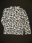 GYMBOREE FANCY DALMATIONS IVORY w/ DALMATION SPOTS L/S TEE 2T NWT