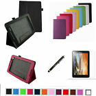"Folio 2-Folding Slim Case+Film+Pen for 8"" Lenovo IdeaTab A8 A8-50 Android Tablet"