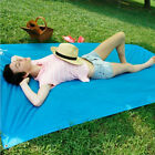 Emergency Waterproof Raincoat Canopy Awning Tent Picnic Pad Mat F Camping Hiking