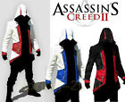Assassin's Creed 3 Connor Anime Cosplay Costume Kenway Hoodie Jacket