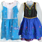 CFR Frozen Princess Anna Elsa Queen Dress Child Toddler Girls Book Week Costume