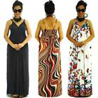NWT Plus Sz L XL 2X Full-Length High Quality Polyester Spandex Casual Maxi Dress