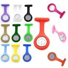 Popular Series Silicone Nurse Watch Brooch Fob Tunic Quartz Movement Watch