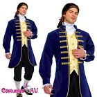 Adult French Aristocrat George Washington Colonial Men Costume Jacket Knickers