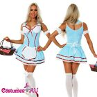 Ladies Dorothy Wizard of OZ Fancy Dress Storybook Hens Party Costume Outfit
