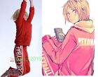 Haikyuu!! Nekoma High School Uniform Training Suit Cosplay Unisex Costume custom