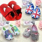 Baby Newborn Boy Girl Toddler Infant Shoes Soft Sole Cartoon Cotton Anti-slip