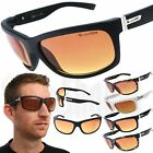 X-Loop HD Wrap Sunglasses Mens Glasses Sports Shades with Blue Blocker Lens