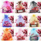Organza Jewellery Drawstring Wedding Candy Packing Birthday XMAS Gift Bags 5*7